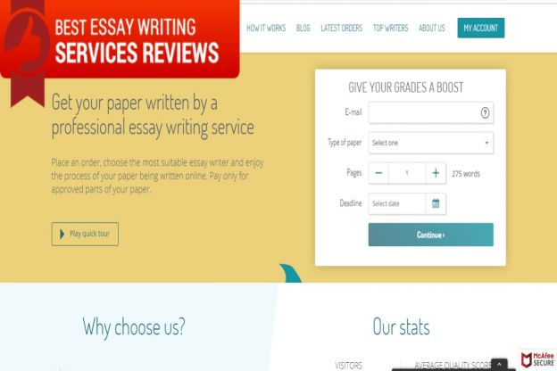 Most Trusted Best Essay Writing Service Reviews Of   Ratings Essaysharkcom Reviews Business Plan Writer In Nyc also High School Narrative Essay  Photosynthesis Essay