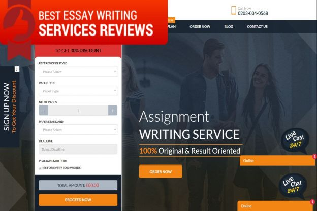 Uk writing essay services