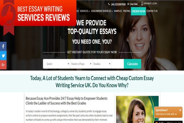 Essay services reviews